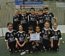Bohusskolan klass 3B besegrade Madenskolans 3A i finalen med 4-2.