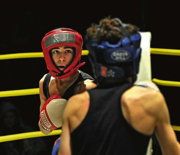Sarwar Selar, 14, från Nödinge, tog i helgen Ales första SM-guld i Diplomboxning. Det skedde i Värnamo och mot värsta rivalen Remi Saddo. Arkivbild: Allan Karlsson