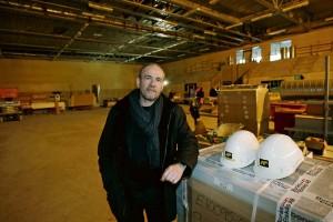 Lennart Karlsson är byggledare för det stora projektet.