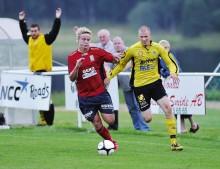 Jonathan Gustafsson och övriga LEIF-are har fått uppleva en motig serieupptakt med två raka nederlag. I fredags föll laget hemma mot IFK Uddevalla med 0-2.