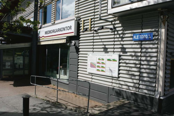 Polisen har lämnat kontoret de hyrde av Ale kommun på Medborgarkontoret i Nödinge. En konsekvens av besparingarna på informationsavdelningen.