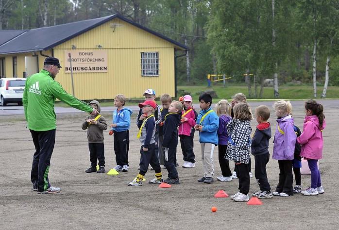 Per Karlsson håller i friidrotten.