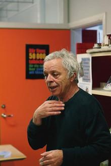 Douglas Foley berättade hur serien om Habib växt fram.