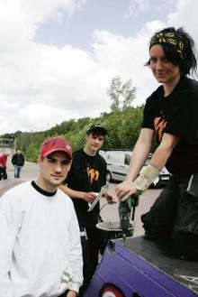 Skateboardparken i Nödinge har fått en välbehövlig upprustning tack vare eleverna på Lärlingsgymnasiet.