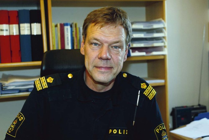 Håkan Frank biträdande enhetschef för Polisen nordost.