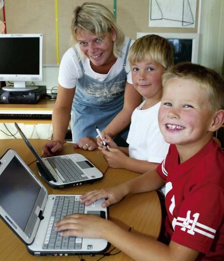 Satsningen på egna laptoppar till eleverna i lågstadiet bidrog till att Ale kommun placerade sig på andra plats i tävlingen Sveriges IT-kommun. Arkivbild: Jonas Andersson