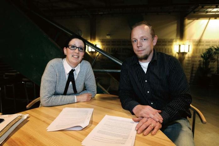 Elena Fridfelt (C) och Dennis Ljungggren (S), ordförande respektive vice ordförande för kommunens största organisation Utbildningsnämnden är lyckligtvis överens om tagen för förskola, grundskola, gymnasium och vuxenutbildning.