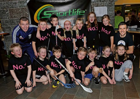 Vinnare! Älvängenskolans klass 2C vann derbyt över 2A i finalpassets målrikaste match 4-2.