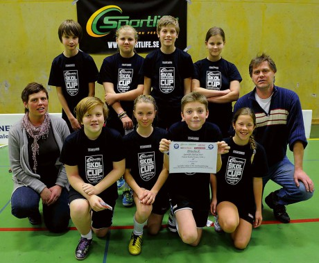 Ahlafors Fria skola vann finalen i årskurs sex med klara 4-0. Segern innebar en prischeck om 1500 kronor.