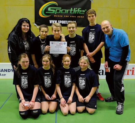 Bohusskolan 7B vann finalpassets andra straffavgörande genom att besegra Ahlafors Fria skola.
