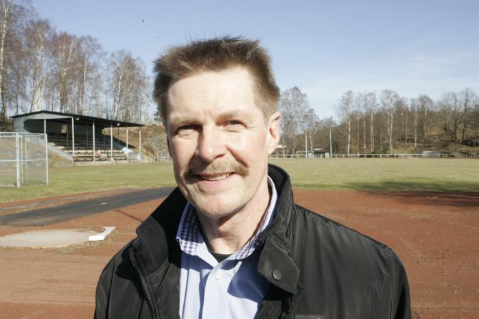 Historisk. Lars Almén utnämndes nyligen till Edet FK:s förste ordförande.