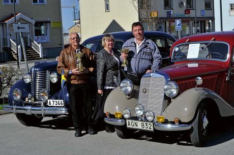Ales snyggaste veteranfordon. Vinnare med endast tre röster blev Sven Hardesjö, vars Buik Century från 1938 fortfarande är svårslagen. Disa och Stig Andersson med sin Mercedes VA 170 från 150 fick nostalgibucklan.
