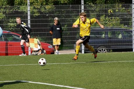 Peter Antonsson blev matchhjälte i AIF när han med matchens sista spark från straffpunkten gav gulsvart tre poäng.