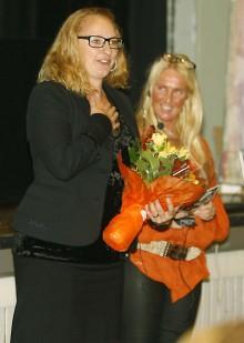 Jannike Åhlgren presenterades på Förtagarkvällen i Alafors i onsdags kväll.