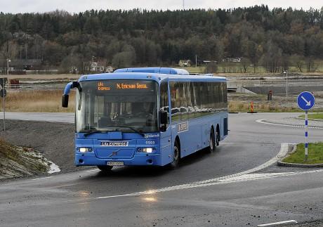 Buss kommer att ersätta tåg på sträckan Göteborg-Trollhättan under perioden 5-11 november. Foto: Allan Karlsson