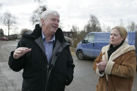 Socialchef Sven Bergelind och enhetschef Carina Andersson-Ghulam.