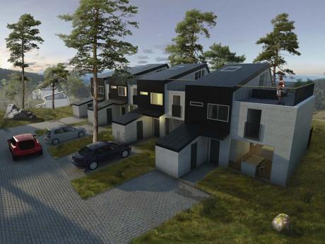 Området vid Keillers Damm kommer att bestå av 116 bostäder, fördelat på 86 lägenheter, 21 radhus och 9 villor.