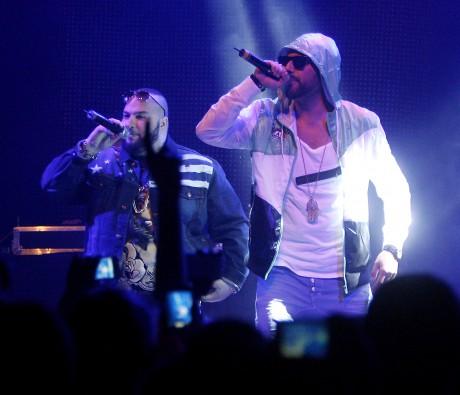 Sami Rekik och Ali Jammali bildar den populära hiphop-duon Medina.