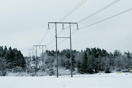 Drygt 1 700 av Ale Els kunder i Skepplanda drabbades av ett kortare strömavbrott på torsdagsförmiddagen. Arkivbild: Jonas Andersson