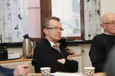Bjarne Färjhage, representerade Centerpartiet i Lilla Edet.