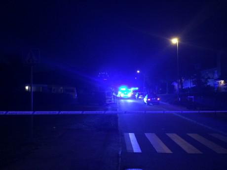 På Skyttelvägen i Alafors tvingades polisen öppna eld mot två attackerande personer. En av dem träffade skadades så allvarligt att han avled.