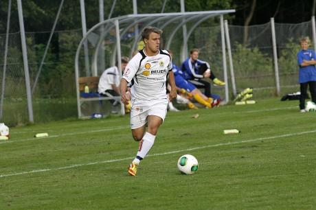 Martin Rundqvist får mer och mer speltid i Ahlafors IF. I bortamötet med Kärra bytte han med Jonathan Lindström och spelade 35 minuter.