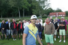 Rikard Karlberg bjöd in till en så kallad Golf Clinic på Kungsgården i torsdags morse.