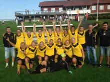 Skepplanda BTK:s damer säkrade seriesegern i division 2 Västergötland Södra efter att ha hemmabesegrat Alingsås KIK med 6-0 i lördags. Senare i höst väntar kvalspel som avgör om det blir uppflyttning till ettan.