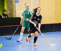 Full fart framåt. Nyförvärvet från IBK Göteborg, Jessica Ljunggren, imponerade i sin debut för Surte IS IBK. Facit blev ett mål och två assist.