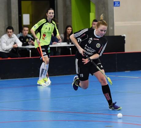 Jonna Leek var återigen bäst i Surte IS IBK som dock fick se sig slagna med uddamålet av Floda IBK.