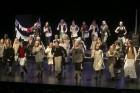 Kulturskolans ensemble är på 55 personer i åldrarna 7-67 år. Imponerande!