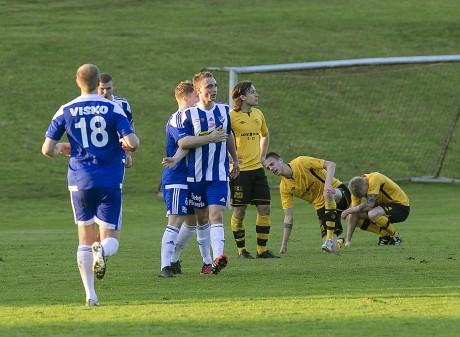 Blytungt poängtapp på Forsvallen. IFK Örby kvitterade på övertid.