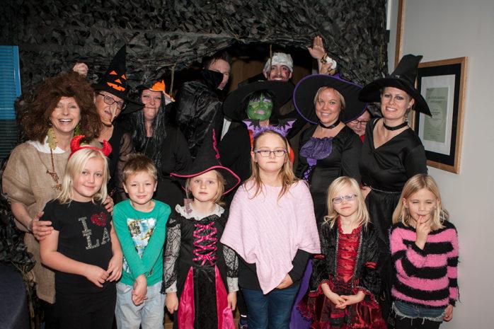 I fredags bjöd Folktandvården i Älvängen in till halloweenparty.