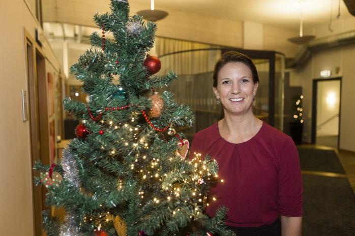 Paula Örn (S) berättar att Ale kommun kommer att passera 30 000 invånare i början av 2017.