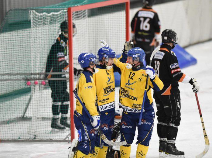 Surte BK:s hemmapremiär på fredag är framflyttad en timme. Arkivfoto: Allan Karlsson.