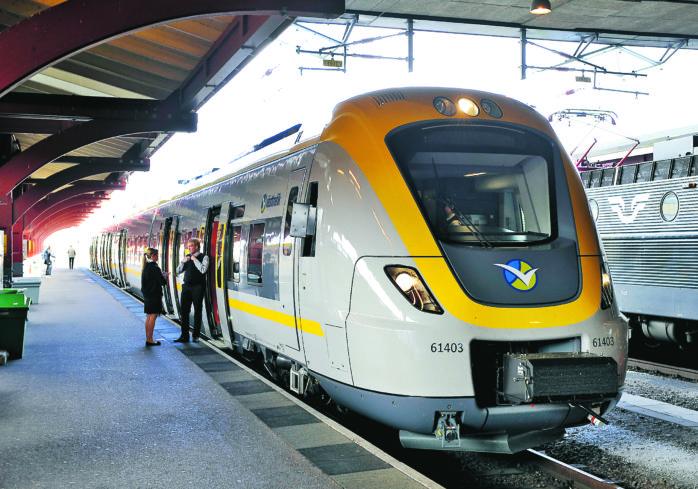 Det är totalstopp i tågtrafiken till och från Göteborg.