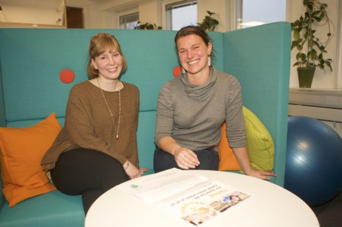 Deltagare sökes till Minimeringsmästarna 2017. Ansökan ska vara Jenny Lagergren på Ale kommun tillhanda senast den 10 februari. Här ses Jenny tillsammans med Katharina Bodén, Alafors, som var en av deltagarna 2015.