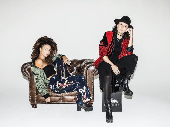 VAZ, bestående av systrarna Jenny och Cecilia Vaz från Lilla Edet, är en av tolv handplockade artister till svenska upplagan av Red Bull Sound Select.