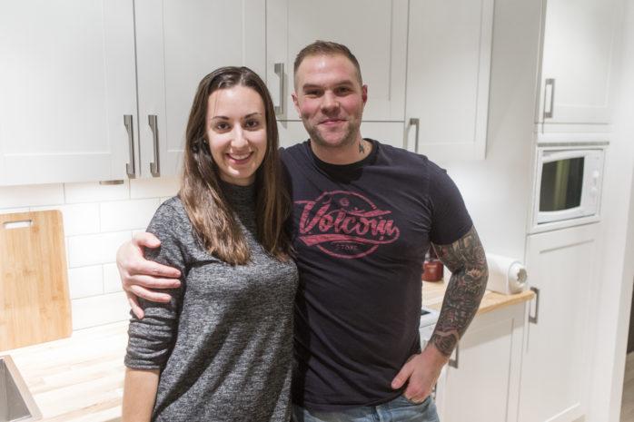 Sandra Tahrodi Lennartsson och Kristoffer Andreasson valde att lämna Kärra för Nödinge.