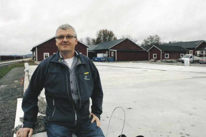 Håkan Andersson har väntat på bygglov i över två år. Arkivbild.