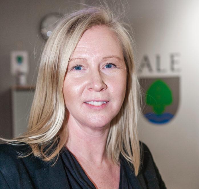 Marie Bergvall, tillförordnad näringslivschef i Ale.