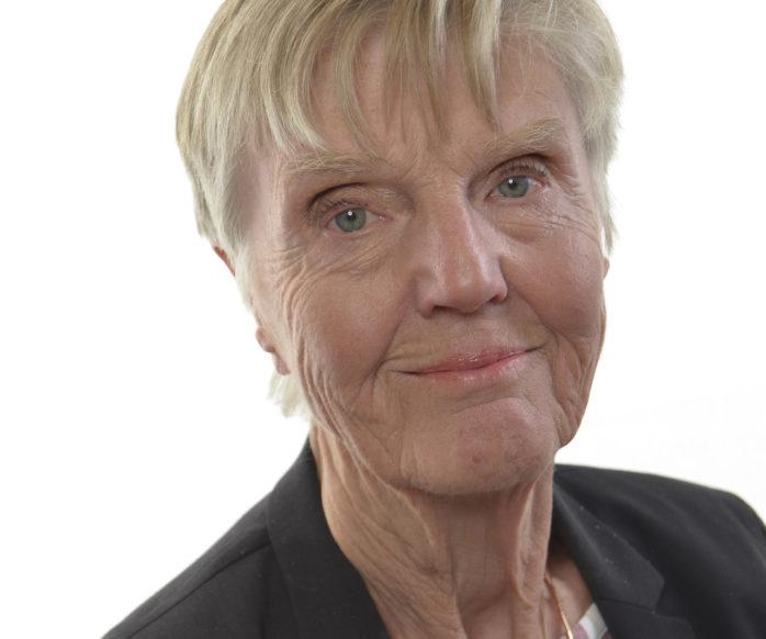 Liberalernas riksdagsledamot Barbro Westerholm, 83, kommer till Ale Kulturrum. På schemat står ålderism och åldersdiskriminering. Pressfoto.