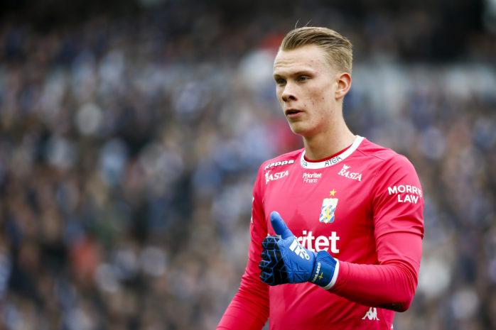 Pontus Dahlberg, från Älvängen, är klar för Premier League-klubben Watford.    Arkivfoto: Michael Erichsen/ Bildbyrån.