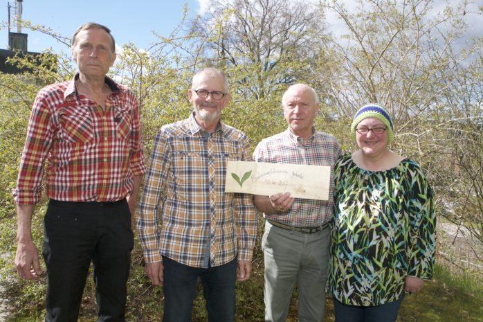 Lördagen den 27 maj firar Askeröds Spelmansstämma 40 år. Här ses stämmokommittén, som från vänster är: Lars-Åke Pettersson, Keith Nilhammer, Roland Hjelte och Beate Flach.
