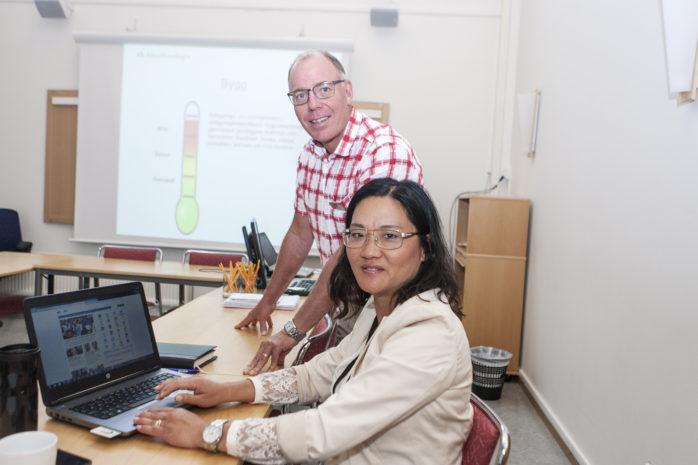 Reimond Ardner och Kristin Svenningstorp på Arbetsförmedlingen Ale/Lilla Edet konstaterar att arbetsmarknaden i Västsverige är urstark.