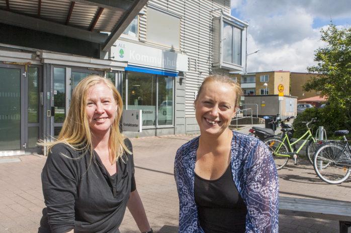 Marie Bergvall, tillförordnad näringslivschef, och Kristina Engstrand, näringslivskoordinator, tvingas konstatera att Ale kommun tappar 33 placeringar på i Svenskt Näringslivs ranking av företagsklimatet i Sveriges 290 kommuner. Ale ligger nu på plats 88.