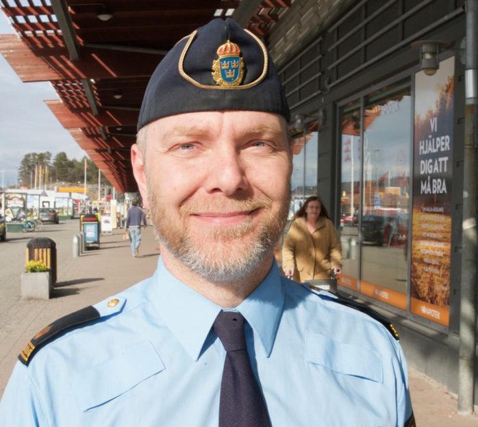Daniel Hjerpe är tillbaka som kommunpolis i Kungälv/Ale.
