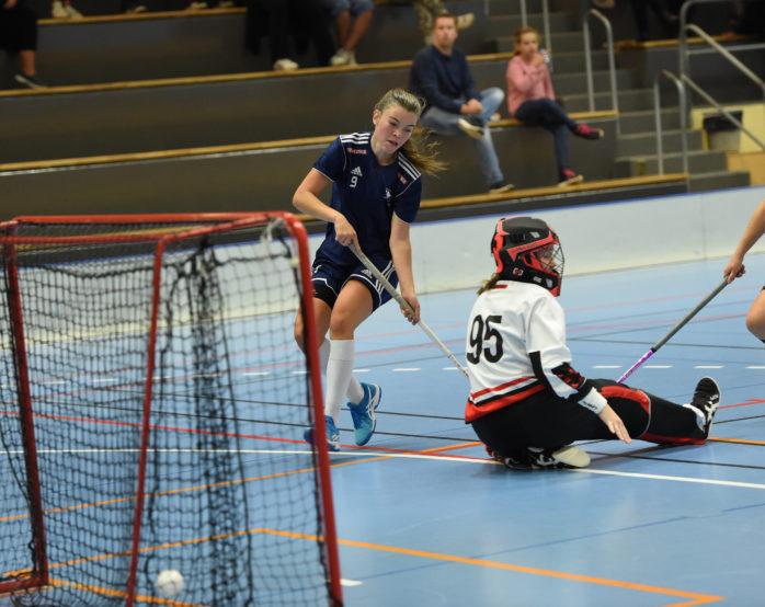 Ebba Sporrong satte ett mål i helgens segermatch. Arkivfoto: Allan Karlsson.