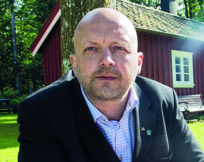 Oppositionsråd Mikael Berglund (M).