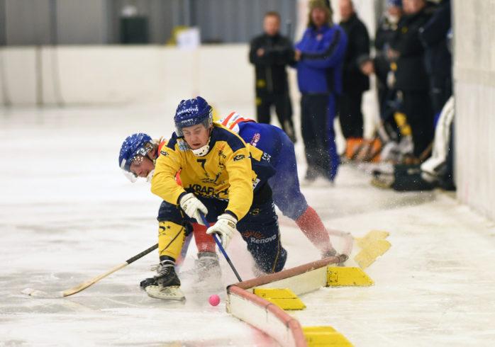 Jonatan Ekhamn och resten av Surtespelarna hade det svårt mot LAIK. Arkivbild: Allan Karlsson.